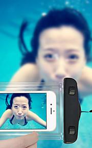simning telefon påse 20m vattentät telefon väska med snodd för iphone 6 / 6plus / 5 / 5s / 5c och andra (blandade färger)