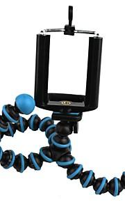 blå ring blæksprutte support doven mobiltelefon support digitalt kamera stativ 2 sæt