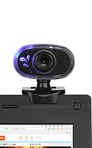 2015 nye 360 ​​grader roterende 12m usb 2.0 hd webcam kamera web cam med indbygget mikrofon mini klip til pc laptop