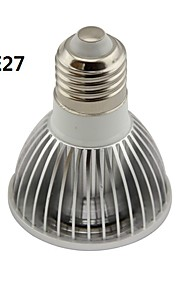 GU10/E26/E27 5 W 1 COB 500LM LM Varm hvit/Kjølig hvit PAR Dimbar Parlamper AC 220-240/AC 110-130 V