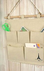 / print borse di stoccaggio appendiabiti torre del cotone di modo
