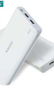 16000mah romoss 솔로 (6) 휴대용 충전기 외부 배터리 팩 전원 은행 빠른 충전