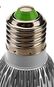 E27 / GU10 3W 6x5730smd 240-270lm 6000-6500k naturlig / varmt hvitt lys LED spot pære (85-265v)