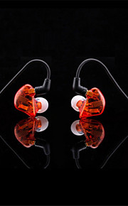 Original DIY-3.14 Wired 3.5MM Hi-fi stereo headphones Professional Concert Noise isolate Bass for Iphone 6 / 6Plus