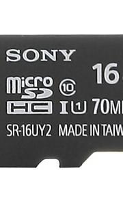 SONY 16GB TF(MicroSDHC)UHS-1(Class10) 70M/S  Flash Memory Card High Speed Genuine