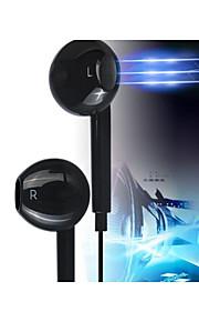 v4.0 bluetooth s6 en la oreja los auriculares estéreo con micrófono para 6/5 / 5s samsung s4 / 5 lg htc y otros (colores surtidos)