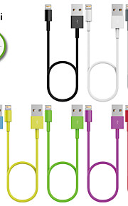 HXINH MFi Lightning to USB 2.0 Charger & SYNC Cable, for iphone5/6/Plus,iPad Air/2,iPad mini/2/3, 1M,Assorted Colors
