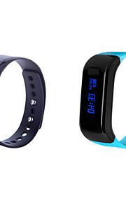 Bluetooth 4.0 Multifunctional Running Waterproof IP 67 Calories Intelligent Bracelt Pedometer