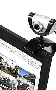 2015 New USB 2.0 16M HD Camera Web Cam with MIC 9 different video effects for Desktop Skype Computer PC Laptop