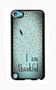 난 아이팟 터치 5 감사 디자인 알루미늄 높은 품질의 경우입니다