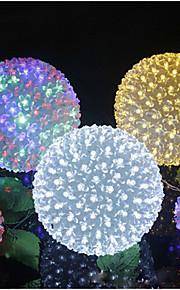 100 ledde bollen ljus varmvit / vit / flerfärgad parti / heminredning (Conformite Europeene)