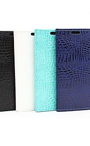 HTC의 M9에 대한 악어 곡물 보호 쉘 패션 전화 세트 (모듬 색상)