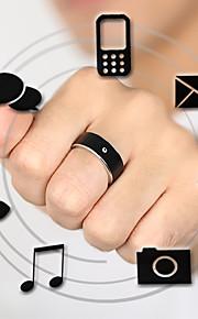 Smart Ring drahtlose tragbare Gerät wasserdicht kostenlos Spiel, um intelligente Uhr Wristband Farbe schwarz size7 / 8/9/10/11/12 #