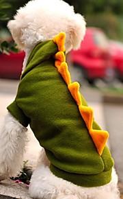Grön - Bröllop/Cosplay - Polar Fleece - Huvtröjor - till Hundar/Katter