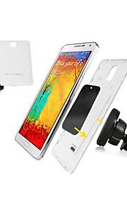 2015 nuovo design forte aria magnetico auto sfogo supporto del supporto del telefono mobile per Samsung / iphone / altri
