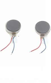 10*2.0mm Flat Motor Phone Vibration Motor / Vibrating Motor(2Pcs)