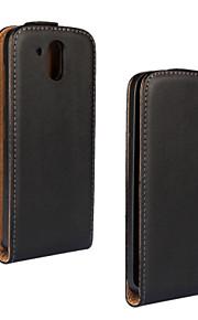 flip-abierto la caja de cuero de cuerpo completo genuino para HTC Desire 526 526G 526G + (colores surtidos)