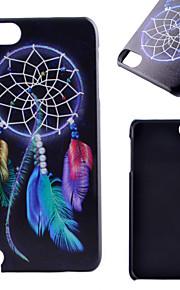 아이팟 터치 5 casefor 한 Campanula 패턴 프로스트 PC 소재 전화