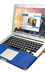 jisoncase portable double support de protection de la couleur de l'appareil étui pour apple mac book air 12 ""