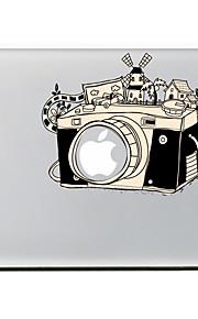 l'adesivo decorativo pelle fotocamera per l'aria macbook / pro / pro con display retina