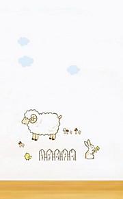 multifunções diy ovelhas pvc padrão rancho adesivos decorativos