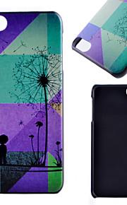 아이팟 터치 5 casefor 민들레 패턴 프로스트 PC 소재 전화