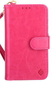 ny notering crazy horse mönster handväska koreanska mobiltelefonfodral för Apple iPhone 6 (blandade färger)