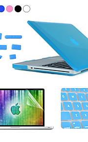 """Enkay 4 in 1 crystal harde beschermhoes + screen protector + keyboard film + anti-stof stekkers voor MacBook Pro 13.3 """""""