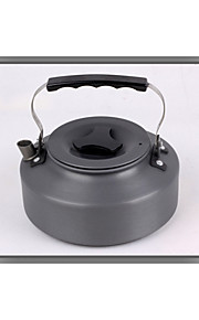 Portable 1.1l Aluminum Outdoor Kettle Camping Picnic Water Teapot Coffee Pot Camping Cookware