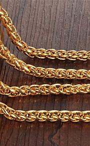 Choker-halskæde ( Guldbelagt ) - Bryllup/Party/Daglig/Afslappet