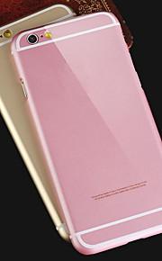 iPhone 6 - Achterkantje - Speciaal ontwerp (Zwart/Roze/Goud/Zilver , Metaal)