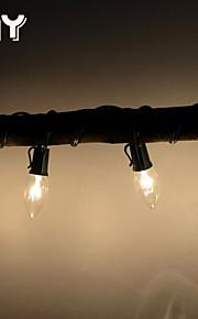 GMY jul lys c7 uteplass streng lys