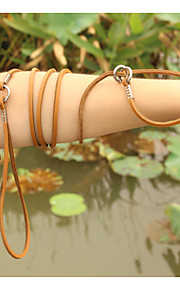 Small Ultra-fine Leather Dog Collar Leashes