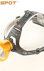 SUNSPOT HL660 3 Mode 450 Lumens Headlamps / Rechargeable / Anglehead LED Cree XP-G R5 Camping / Hunting