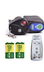 LUGERDA Bicycle Anti-theft Alarm Lock Mountain Car Anti-theft Alarm Lock With  Remote Control Large