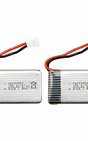 exploradores partes drones x5C-11 3.7v 500mAh 100% 5pcs bateria original de fábrica syma x5C / 1 x5C-