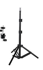 ls-601 mini-lightstand / tripé / stand luz / estúdio equipamento fotográfico titular candelabro + d-suporte