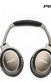 Pisen HiFi Wired Headset Adjustable Headband Standard 3.5mm Over-ear Headphone 1.5m Wire
