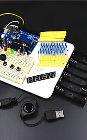 UNO R3 Experiment Platform /UNO R3 Basic Learning Kit for Arduino--White