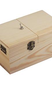 NEJE træ ubrugelig færdigsamlet maskine kasse legetøj - lys brun