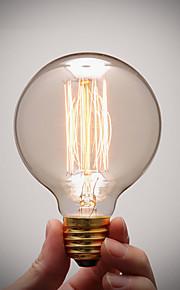 ren cupper lampe cap retro vintage e27 kunstnerisk lyspæren industriell glødende lyspære 40W