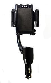 Universal Wide range Adjustment Neck Dual USB Car Charger Holder