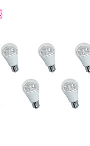 6 stuks JS E26/E27 5 W 10*SMD 3535 400 LM Warm wit / Koel wit A Decoratief Bollampen AC 85-265 V