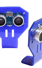 HC-SR04 Ultrasonic Sensor + Blue Ultrasonic Bracket