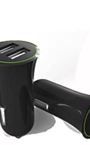 chargeur de voiture à double port de chargeur 12W usb