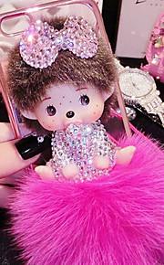 lady®elegant / personlighed / tegneserie telefon tilfældet for iphone6 / 6s (4.7), dekoreret med Camellia diamant, flere farver