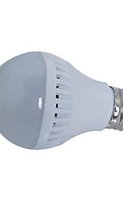 글로브 전구를 주도 hry® 5w E27 18xsmd2835 450lm 따뜻한 / 차가운 백색 전구 (220V)
