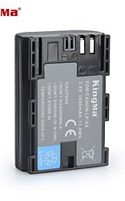 Kingma LP-E6 lp e6 lpe6 digtal kamera batteri til Canon EOS 5d2 5d3 7d 6d 70d 60D mark ii iii