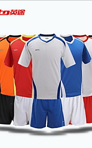 Others Men's Short Sleeve Soccer Clothing Sets/Suits Breathable Football