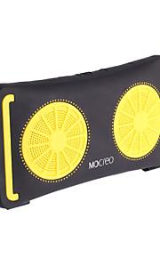 mocreo® ulkona vedenpitävä ultra-ohut kannettava Bluetooth kaiutin sitruuna - keltainen + musta